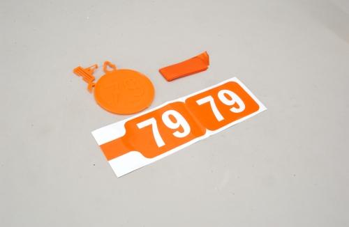 35MHz Frequenz Fahne Ch 79 Slec