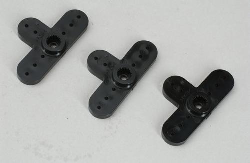 Futaba Servo Horn - Type K (Splined) Pk3