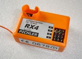 Empfänger RX4 Pichler C14xx