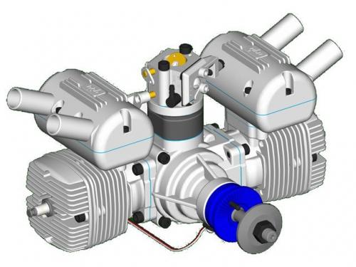 Benzinmotor NGH GT-70 Pichler C5529