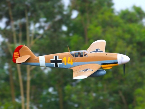 Messerschmitt BF109 Brown PNP Pichler C7334