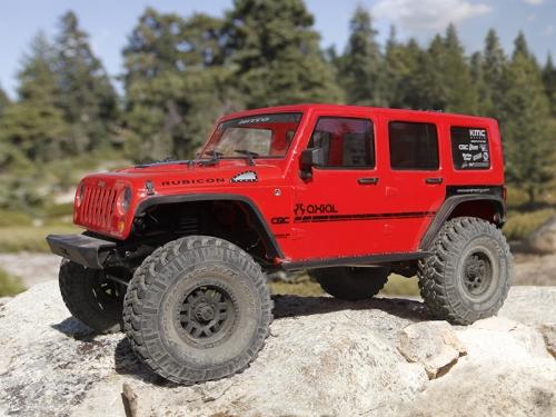 Axial - SCX10 II Jeep Wrangler Rubicon 4WD 1/10 RTR - no battery, no charger AX90060 Hobbico