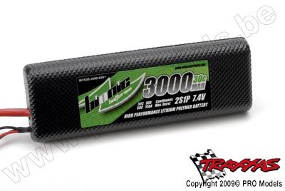 BIONIC CAR 30C 3000MAH 2S1P 7,4V TRAXXAS CONNECTOR BCS30-3000-0201TR