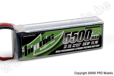 BIONIC FLIGHT 30C 5500MAH 3S1P 11,1V BFS30-5500-0301