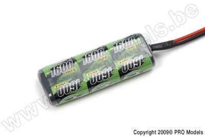BIONIC NI-MH VOLT+ 1600 2/3A RACINGPACK 7.2V BNH-1600-2/3A6L