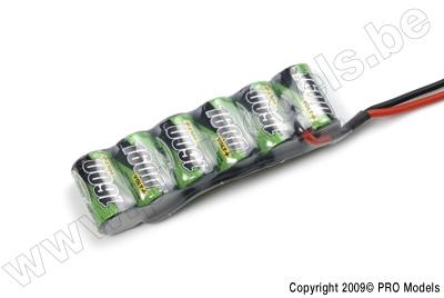 BIONIC NI-MH VOLT+ 1600 2/3A RACINGPACK 7.2V BNH-1600-2/3A6S