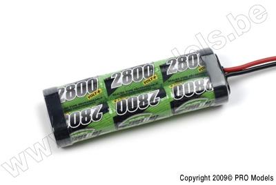 BIONIC NI-MH VOLT+ 2800 SC RACINGPACK 7.2V TAMIYA BNH-2800-SC6T
