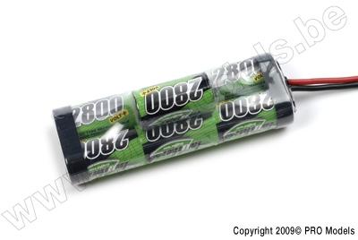 BIONIC NI-MH VOLT+ 2800 SC RACINGPACK 8.4V TRAXXAS BULB BNH-2800-SC7TRB