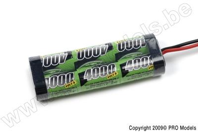 BIONIC NI-MH VOLT+ 4000 SC RACINGPACK 7.2V TRAXXAS BNH-4000-SC6TR