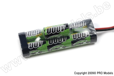 BIONIC NI-MH VOLT+ 4000 SC RACINGPACK 8.4V TRAXXAS BULB BNH-4000-SC7TRB