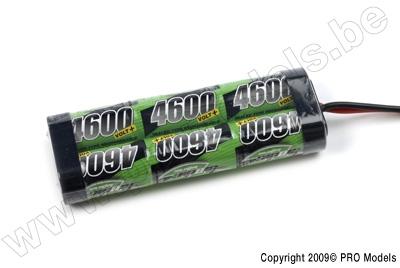 BIONIC NI-MH VOLT+ 4600 SC RACINGPACK 7.2V TRAXXAS BNH-4600-SC6TR