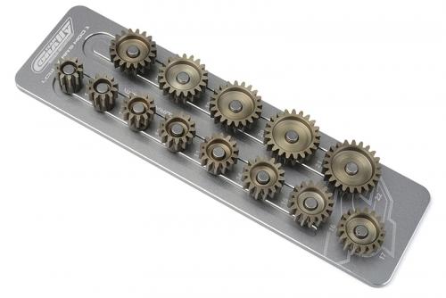 Team Corally - Ritzelhalter M1.0 - 13 Ritzel - Welle 5mm C-16200