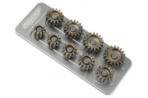 Team Corally - Ritzelhalter M1.0 - 9 Ritzel - Welle 5mm C-16201