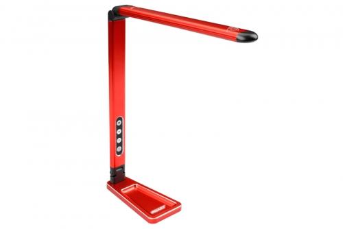 Team Corally - Led Pit Light - Einstellbare Lichtstarke - Bewegungssensor - Kleinteile Schale  - Farbe Rot C-16310