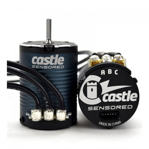 Castle - MOTOR, 4-POLE SENSORED BRUSHLESS, 1406-1900KV CC-060-0068-00
