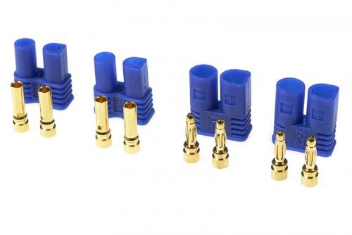 G-Force RC - Steckverbinder - EC-2 - Goldkontakten - Stecker + Buchse - 2 Paare GF-1020-001