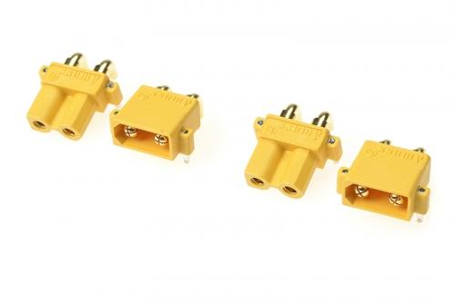 G-Force RC - Steckverbinder - XT-30PW - Goldkontakten - Stecker + Buchse - 2 Paare GF-1031-001