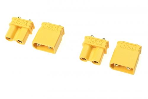 G-Force RC - Steckverbinder - XT-30UPB - Goldkontakten - Stecker + Buchse - 2 Paare GF-1032-001