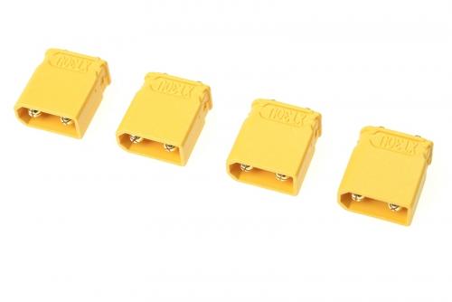 G-Force RC - Steckverbinder - XT-30UPB - Goldkontakten - Stecker - 4 St GF-1032-002
