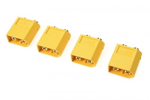 G-Force RC - Steckverbinder - XT-60PB - Goldkontakten - Stecker - 4 St GF-1042-002