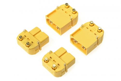 G-Force RC - Steckverbinder - XT-60PW - Goldkontakten - Stecker + Buchse - 2 Paare GF-1043-001