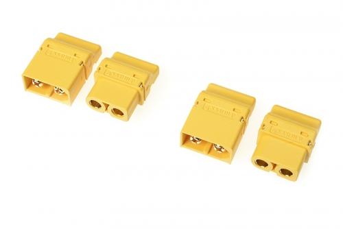 G-Force RC - Steckverbinder - XT-60PT - Goldkontakten - Stecker + Buchse - 2 Paare GF-1044-001