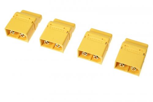 G-Force RC - Steckverbinder - XT-60PT - Goldkontakten - Stecker - 4 St GF-1044-002