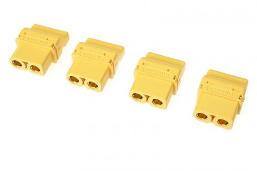 G-Force RC - Steckverbinder - XT-60PT - Goldkontakten - Buchse - 4 St GF-1044-003