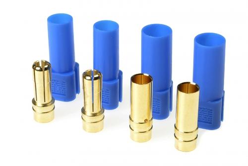 G-Force RC - Steckverbinder - XT-150 - Goldkontakten - Stecker + Buchse - Blau - 2 Paare GF-1055-004