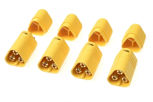 G-Force RC - Connector - MT-60 3-Polig - Goldkontakten - Stecker - 4 St GF-1091-002