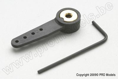 G-Force RC - Nylon Steuerhebel - Einfach - 33mm - Welle Du. 4mm  - 1 St GF-2131-001