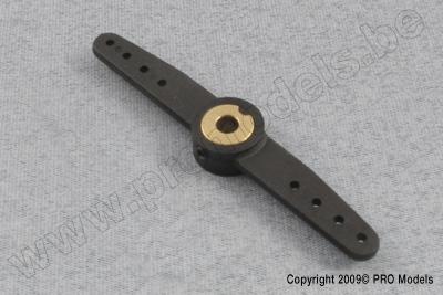 G-Force RC - Nylon Steuerhebel - Doppelt - 66mm - Welle Du. 4mm  - 1 St GF-2132-001