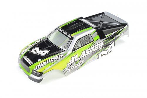Ishima - Blaster Body Green + Decals ISH-010-066