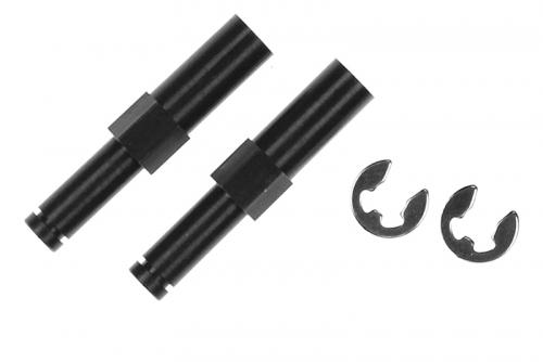 Ishima - Front Axles + E-Clips 3mm ISH-021-027