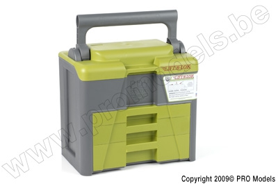 LIFT AND LOCK CASE GREEN / GREY M023
