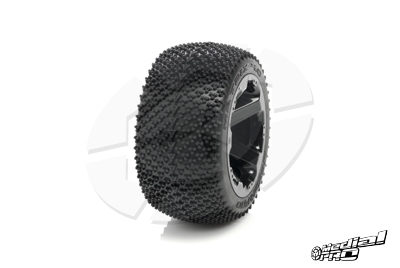 Medial Pro - Tyre set pre-mounted Matrix 4.0,  White rims 17mm Hex, fits REVO + MAXX series MP-5730