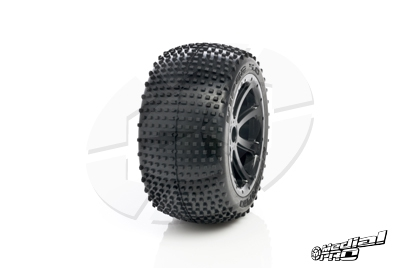 Medial Pro - Tyre set pre-mounted Viper 4.0,  White rims 17mm Hex, fits SUMMIT, REVO + MAXX series MP-5820