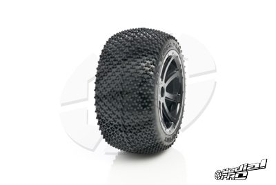 Medial Pro - Tyre set pre-mounted Matrix 4.0,  White rims 17mm Hex, fits SUMMIT, REVO + MAXX series MP-5830