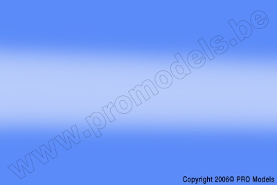 Oracover - Oralight - Light Transparent Blue ( Length : Roll 10m , Width : 60cm ) OR-31-059-010