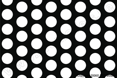 Oracover - Fun 1 (16mm Dots) White + Black ( Length : Roll 10m , Width : 60cm ) OR-41-010-071-010