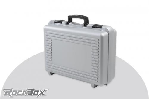 Rocabox - Universal Koffer - RP-4632-17-GE - Silber - Noppenschaum RP-4632-17-GE