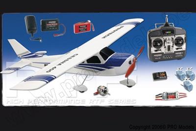 CESSNA 400 RTF 35MHZ MODE 2 (UK VERSION) T0440.35M2UK