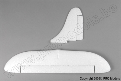 Protech RC - Tail + Rudder Set Skyraider T0442.004