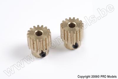 Protech RC - Motor Gear Zoom 450 15T 2Pcs T0502.236