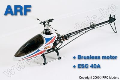 Protech RC - Zoom 450 Ep + Brushless Motor + Esc T0502.ARF
