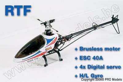 ZOOM 450 EP RTF + B/L MOTOR + ESC 40A + 4X DIGITAL SERVO + H/L GYRO T0502.RTF
