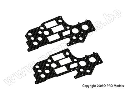 Protech RC - Carbon Upper Frame Set Zoom 450 Gp T0503.206