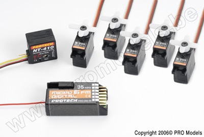 ELECTRONIC PACK ZOOM 450 GP 35MHZ T0503.350