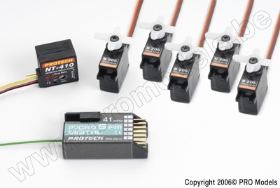 ELECTRONIC PACK ZOOM 450 GP 41MHZ T0503.410