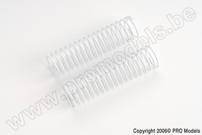 Protech RC - Shock Spring Front White 1,5mm T30.018